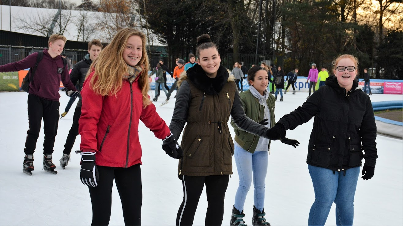 De Timo Graver schaatsdag ten bate van Only Friends.
